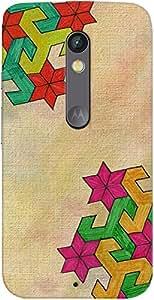 Kasemantra Canvas Art Case For Motorola Moto X Play