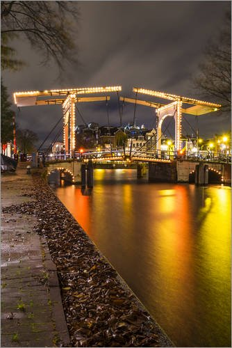 wood-print-80-x-120-cm-the-amstel-river-in-amsterdam-by-kees-krick