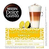 NESCAFÉ Dolce Gusto Latte Macchiato Vanilla | Cápsulas de Café - 16 cápsulas de café