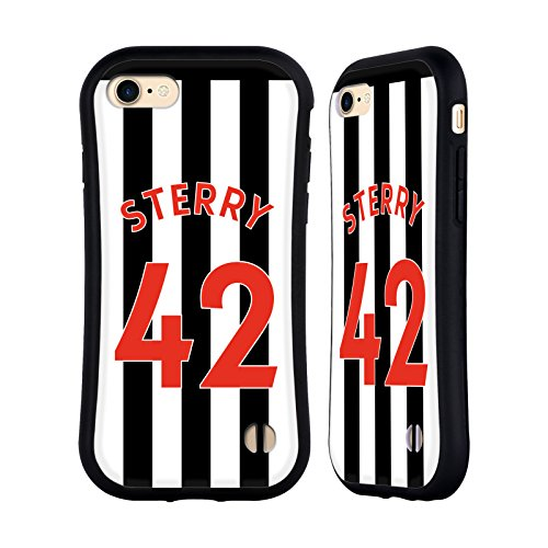 Ufficiale Newcastle United FC NUFC Massadio Haïdara 2017/18 Giocatori Home Kit Gruppo 1 Case Ibrida per Apple iPhone 5 / 5s / SE Jamie Sterry