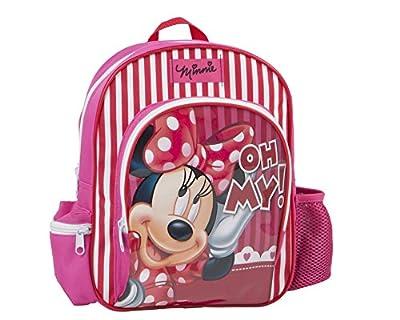Disney - Mochila infantil rosa Minnie Mouse - 30 x 22 cm de Disney