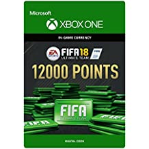 FIFA 18 Ultimate Team - 12000 FIFA Points | Xbox One - Download Code