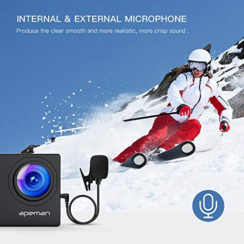 Zoom IMG-2 apeman action cam 4k hd