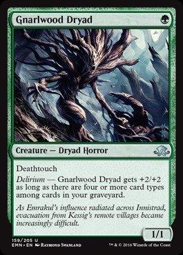 Preisvergleich Produktbild Magic: the Gathering - Gnarlwood Dryad (159/205) - Eldritch Moon by Magic: the Gathering