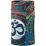 Noise NOIHWPEX050 Polyester Aura of Om Exquisite Multifunctional Bandana, Adult (Multicolor)