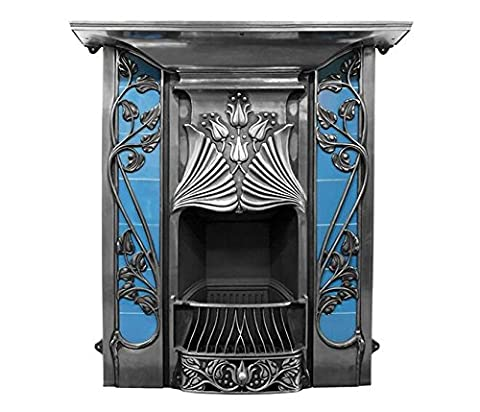 The Toulouse Fireplace Combination in Full Polish by Carron, 44 Inch