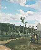 Das Museum Outlet–Kinderwagen auf ein Land Road, La varenne-saint-hilaire, 1864–Poster (mittel)