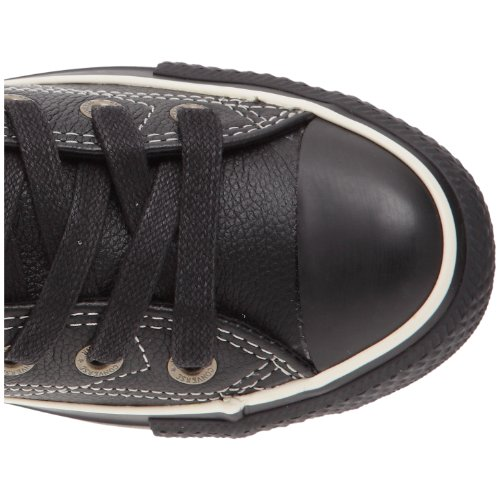 Converse Chuck Taylor All Star All European Leather Hi, Baskets mode mixte adulte Noir