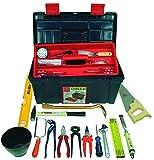 HaWe 25.133 Werkzeug-Box Profi-Universal bestückt 32-teilig