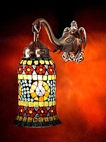 Lalhaveli Vintage Wall Lamp Bedroom Decorative Sconce Wall Light Fittings 25 x 23 Cm