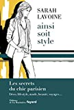AINSI SOIT STYLE by SARAH LAVOINE