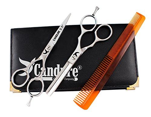 Professionell Haarscheren Set Mikroverzahnt Effilierschere Modellierschere Friseur Scheren Set, 5.5'' (13,97cm) (Haar-scheren Set)