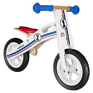 51j4jGv7y2L. SS300 BIKESTAR Bicicletta Senza Pedali in Legno 2-3 Anni per Bambino et Bambina Bici Senza Pedali Bambini 10 Pollici