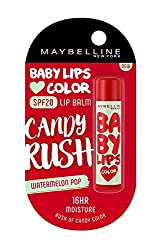 Maybelline New York Baby Lips Candy Rush Lip Balm, Cotton Candy, 4g