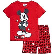 Disney Mickey Chicos Pijama mangas cortas 2016 Collection - Rojo