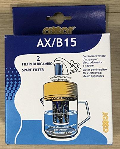 Demineralizzatore acqua per sistemi da stiro a vapore ax/b15 spedito da poli ricambi
