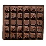 meisijia Silikonform 26 Englisch Brief Silikon Schokoladenform Diy Handgemachte Seife Eisgitter Modell Backwerkzeug