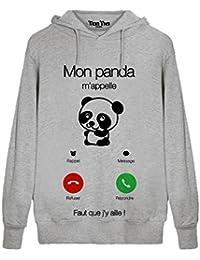 Amazon.fr   panda sweat - Homme   Vêtements 55cd9647f46c