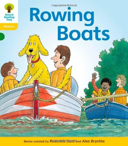 Oxford Reading Tree: Level 5: Floppy's Phonics Fiction: Rowing Boats