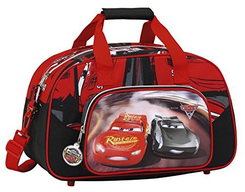 Safta Cars 3 Kinder-Sporttasche, 40 cm, Rot (Rojo / Negro)