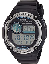 Casio Youth Digital Black Dial Men's Watch-CPA-100-1AVDF (D143)