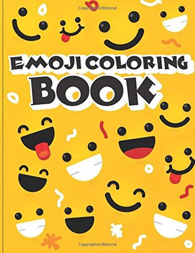 Emoji Coloring Book: Emoji coloring book for kids & toddlers - activity books for preschooler: Volume 1 (Emoji Coloring and Activity Book for Kids) por Gray Kusman