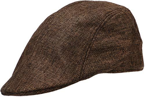 Wilhelm Sell® Classic Flatcap Aspecto Tradicional