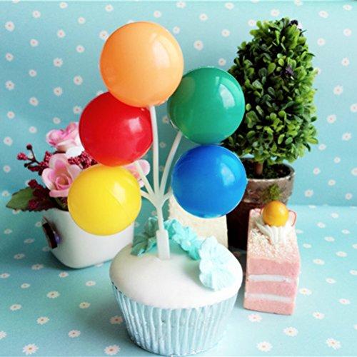 s Bouquet Kuchen Toppers | Cupcake Dekorationen, 24 Picks, Geburtstag Zubehör ()