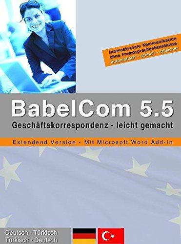 BabelCom 5.5 Extended Deutsch-Türkisch  (PC+MAC