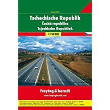 Atlas routiers : République Tchèque - Tschechische Republik (en allemand)