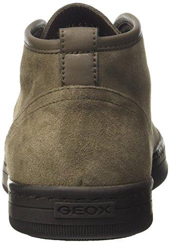 Geox Herren Uomo Ricky C Hohe Sneaker Braun (Lt Taupe)