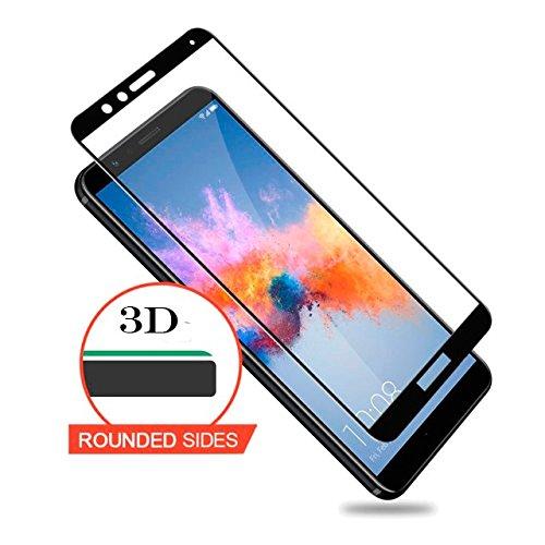 Case U Honor 7X Tempred Glass-Black