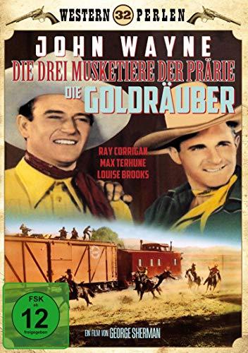 Die 3 Musketiere der Prärie - Die Goldräuber - Western Perlen 32 (Overland Stage Raiders)