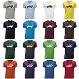 STUFF4 Herren/Rundhals T-Shirt/Schablone Auto-Kunst / Defender/CS
