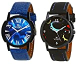 Combo of two sporty look watches from VE...