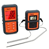 ThermoPro TP-08 Digital Wireless Remote Kitchen Meat Cooking Thermometer - Dual Probe for BBQ, Smoker, Grill, Oven, Meat - Monitors Food Temperature From 300 Feet Away