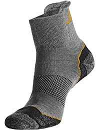 Snickers 92000700045 Coolmax Chaussettes basses Taille 43-45 Cendre Gris
