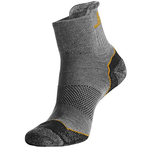 snickers-92000700045-coolmax-chaussettes-basses-taille-43-45-cendre-gris