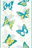 Livingwalls panel autoadhesivo Pop Up Panel azul amarillo blanco 2,50 m x 0,35 m 942581