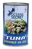 #6: Oceans Secret Tuna Chunks in Oil, 425g