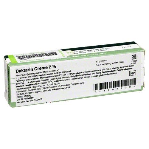 DAKTARIN Creme 30 g Creme