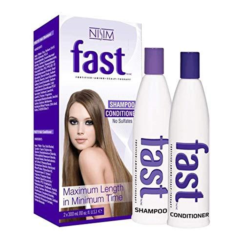 FAST hair Shampoo und Conditioner Set, lässt Haare schneller wachsen, sulfat & parabenfrei