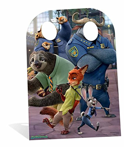 "adventure time SC938 ""Zootopia"" Child Stand in Cardboard Cut Out"