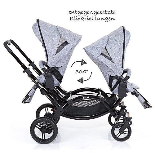 ABC Design Zoom – Zwillings- und Geschwisterkinderwagen - 3
