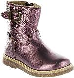 Richter Kinder Winter Boots Stiefel Rot Warm Metallicleder RichTex Mädchen 4751-441-7610 Burgundy Audi, Größe:32, Farbe:Rot