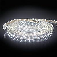 4 m 240x LEDs PCBw LED Streifen Strip WARMWEISS wasserdicht ca