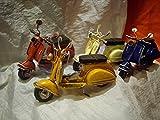 Motorrad Miniatur Scooter Gastgeschenk Taufe Geburt Hochzeit Laurea Mythische Vespa cm 10.5