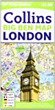 Londres Big Ben Map 1:9.000