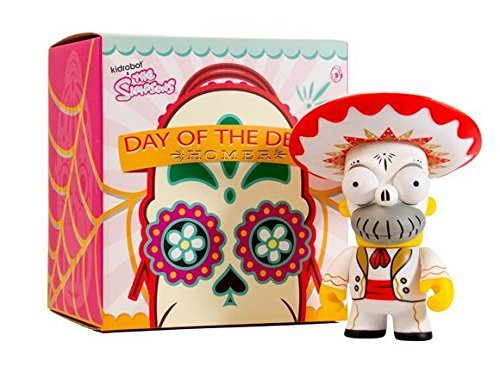 Kidrobot - Figurine - Les Simpsons - Day of the Dead Homer - 0883975129880 5