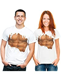 Sixpack - Fun T-Shirt, Grössen S-M-L-XL-XXL